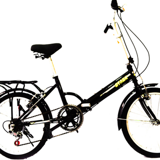 Stark Folding Bike 20 - Black