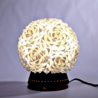GiCrafts Floral Table Lamp