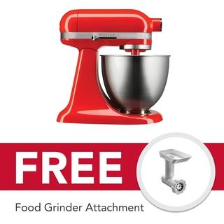 KitchenAid Stand Mixer Artisan Mini 3.5Qt Tilt Head (Hot Sauce) -5KSM3311XBHT