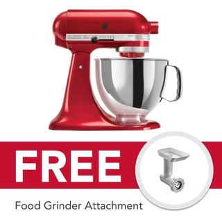KitchenAid Mixer Artisan 5Qt (Candy Apple) - 5KSM150PSECA