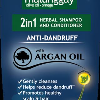 Moringa-O2 2-in-1 Herbal Anti-Dandruff Shampoo and Conditioner 75ml