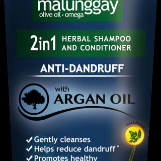 Moringa-O2 2-in-1 Herbal Anti-Dandruff Shampoo and Conditioner 200ml