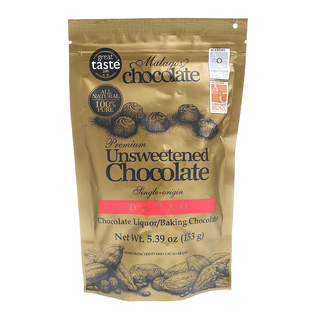 Malagos Ventures Unsweetened Chocolate 153gms.