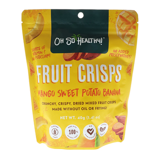 Oh So Healthy Mango Sweet Potato Banana Chips 40gms.