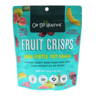 Oh So Healthy! Dried Fruit Crisps (40gms)