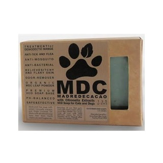 GOOD BARS Madre De Cacao with Citronella Extracts VCO Soap for Cats and Dogs (135 grams)