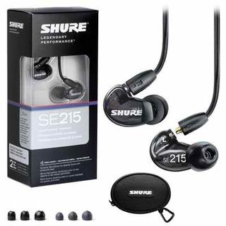 Shure SE 215 Sound Isolating Ear Phones - Black
