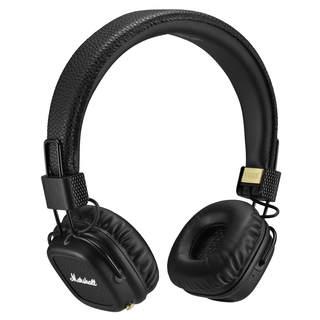 Marshall Major II Bluetooth On-Ear Headphones, Black