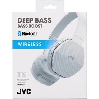 JVC HA-SBT5 Wireless Bluetooth On Ear Headphones - White