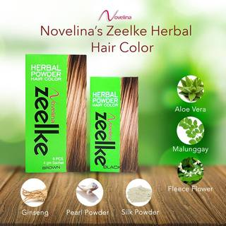 Novelina Zeelke Herbal Powder Hair Color - Bottle 6g