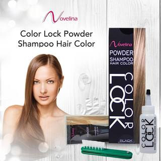 Novelina Colorlock Powder Shampoo Hair Color