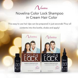 Novelina Colorlock Shampoo in Cream Hair Color
