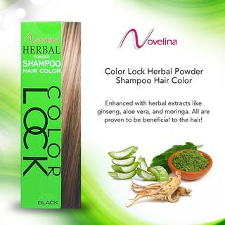 Novelina Colorlock Herbal Powder Shampoo Hair Color