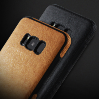 Mikki Leather Stitch Ultra Thin Hybrid Case for Samsung Galaxy