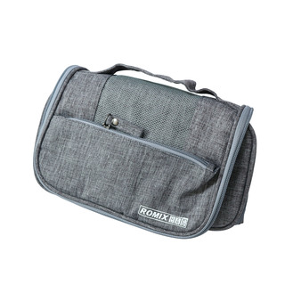 Romix Foldable Cosmetics Bag - Grey