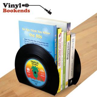 Vinyl Bookends - Black