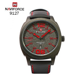 Navirforce 9127 Fashion Casual Waterproof Quartz Watch For Men - Red