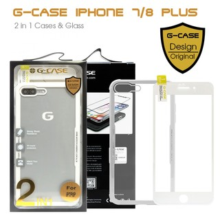 G-Case 2 in 1 Case and Glass Phone Protection for Iphone X - White