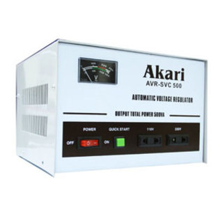 Automatic Voltage Regulator 500W With Quick Start