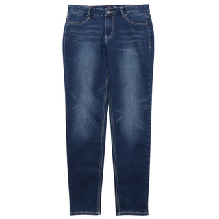 GIORDANO WOMEN'S MID RISE SLIM TAPERED JEANS