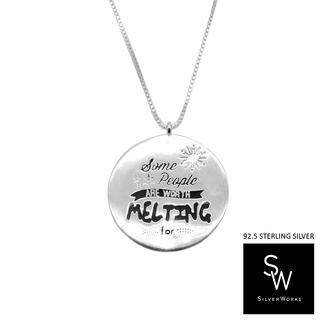 Silverworks N4043-ELSA DISNEY PRINCESS NECKLACE