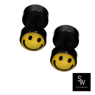 Silverworks BP5618-BLACK SMILEY...