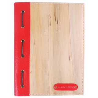J&L Spes Notebook Medium (Red)