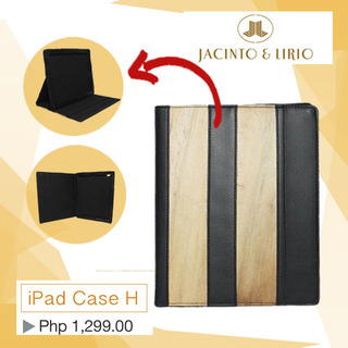 J&L iPad Cover H (Black)