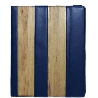 J&L iPad Cover H (Navy Blue)