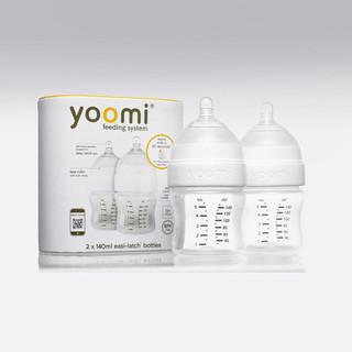 Yoomi 5oz bottle Double Pack, White - Y25B