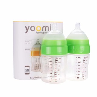 Yoomi 8oz bottle double pack - Y28B