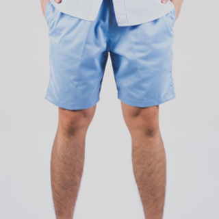 Light Blue Tailored Shorts