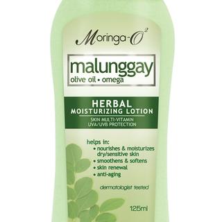 Moringa- O2  Malunggay Herbal Moisturizing Lotion UVA/UVB (125 ml)