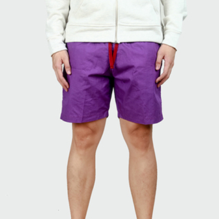 Purple Tailored Shorts