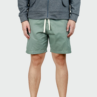 Sea Green Tailored Shorts