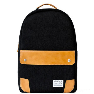 Venque Classic Black Laptop Backpack