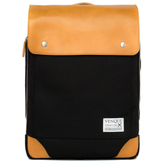 Venque Flatsquare Laptop Bag (Black)