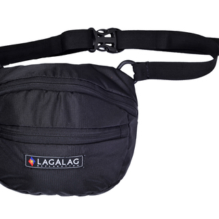 LAGALAG BELT BAG - BLACK