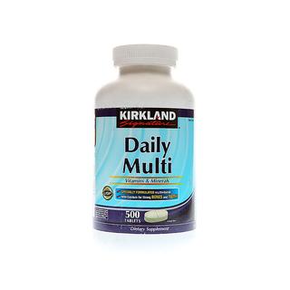 Kirkland Signature Daily Multi 500 Tablets 1000mg