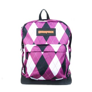 DURAPACK STUDENT HERO BACKPACK (MULBERRY CHECK)