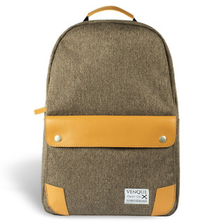 Venque Classic Laptop Backpack - Brown