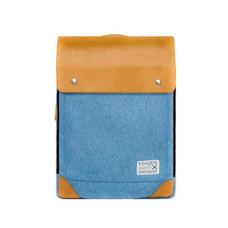 Venque Flatsquare HER Laptop Bag - Denim