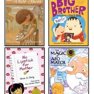 Award-Winning Children's Books by Grace Chong (Bundle of 4)