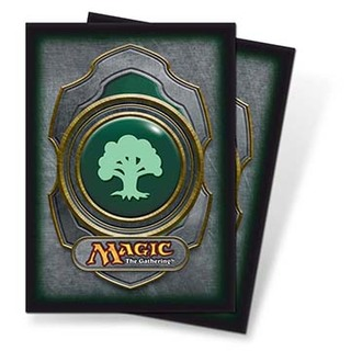 Mana v3 Green Standard Deck Protectors for Magic 80ct
