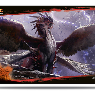 Dragons of Tarkir Dragonlord Kolaghan Play Mat for Magic