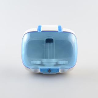 ARC SG-127 Toothbrush UV Sanitizer and Holder Couples (White/Blue)