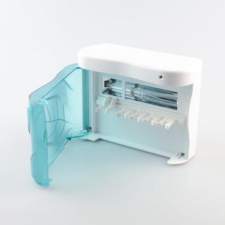 ARC SG-103 Toothbrush UV Sanitizer and Holder Family (White/Blue)