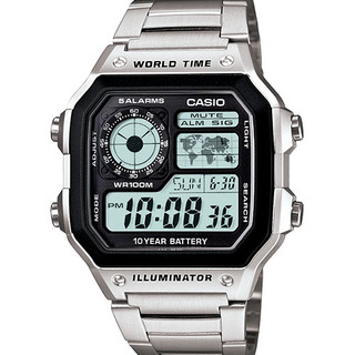 CASIO DIGITAL WATCH (AE-1200WHD-1AVDF)