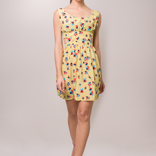 Cocotini - Maggie Cut Out Dress - Yellow