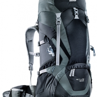 Deuter Lightweight Backpack ACT Lite 40 + 10 (33401) free raincover II